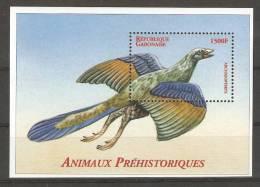 Gabon (2000) Yv. Bf. 106  /   Dinosaurs - Dinosaurios - Dinosaures - Dinosauros - Preistorici
