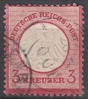 Deutsches Reich    .     Michel       .    9       .       O        .      Gebraucht - Deutschland