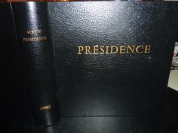 """RELIURE CERES """" PRESIDENCE """" (couleur Noir) 77 FEUILLES DE 2011 à 2014 Avec Pochettes TIMBRES DE FRANCE - Albums & Reliures"""