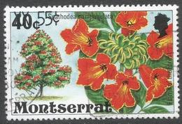 Montserrat. 1980 Surcharges. 55c On 40c Used. SG 480 - Montserrat
