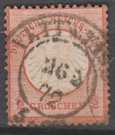 Deutsches Reich    .     Michel       .    14     .       O        .      Gebraucht - Deutschland