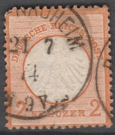 Deutsches Reich    .     Michel       .    15     .       O        .      Gebraucht - Deutschland