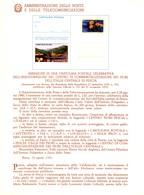 Italia 1980 BOLLETTINO ILLUSTRATIVO N. 13 CARTOLINA POSTALE:CENTRO COMMERCIALIZZAZIONE FIORI DI PESCIA. - 6. 1946-.. Republic