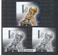 2006 - Coup Du Mond De Football - Germany - Bl Nor. + Bl Souvenir Dent. Et Non Dent. BULGARIA / BULGARIELGARIEN - Fußball-Weltmeisterschaft