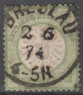 Deutsches Reich    .     Michel       .    17     .       O        .      Gebraucht - Deutschland