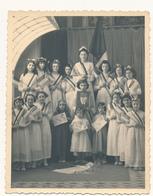 Fête Enfantine à La Gloire Du Maréchal Pétain - Photo  12 X 15 Cm - Collaboration, Etat Français, WW2 - War, Military