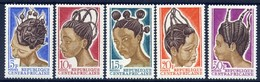 Traditional Ladies Hairstyles - Central African Republic 1967 -  Set  MNH** - Cultures