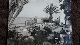 CPSM RABAT MAROC CAFE MAURE DES OUDAIAS ED P COUSIN ANIMATION - Rabat