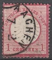 Deutsches Reich    .     Michel       .    19       .       O        .      Gebraucht - Deutschland