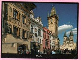 Postcard - Praha / Prague, 2014., Czech Republic (to Croatia) - Tschechische Republik