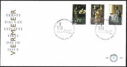 1996 - NEDERLAND - FDC - SG 1784/1786 [Vermeer] + 'S GRAVENHAGE - FDC