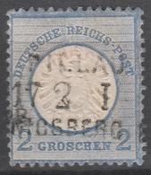 Deutsches Reich    .     Michel       .    20       .       O        .      Gebraucht - Deutschland