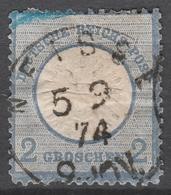 Deutsches Reich    .     Michel       .    20       .       O        .      Gebraucht - Germania