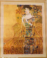 Gustav Klimt,woman In Gold ,handmade With Diamonds - Autres Collections