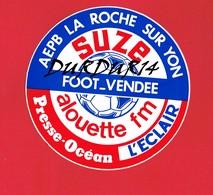 1 Autocollant LA ROCHE SUR YON Foot Vendée Football - Autocollants