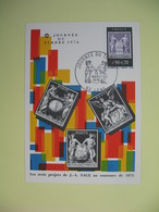 Carte  - Journée Du Timbre  1976  Lens - France