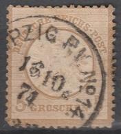 Deutsches Reich    .     Michel       .    22     .       O        .      Gebraucht - Deutschland