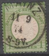 Deutsches Reich    .     Michel       .    23      .       O        .      Gebraucht - Oblitérés