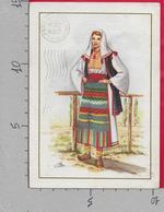 CARTOLINA VG ITALIA - COSTUME Non Identificato - GM MILANO 3136/36 - 10 X 15 - ANN. 1973 LAVAGNA (GE) - Costumi