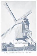 Waanrode: St.Anna-veld ( 2 Scans) - België