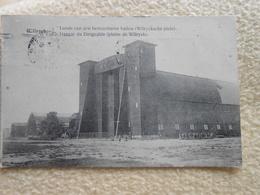 Cpa Wilryck Antwerpen Loods Van Den Bestuurbaren Ballon Hangar Dirigeable 1920 - Antwerpen