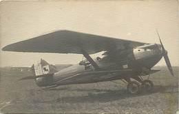 Themes Div-ref AA83- Carte Photo - Photo Postcard - Aviation - Avions - Avion  - - Avions
