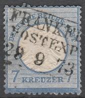Deutsches Reich    .     Michel       .    26      .       O        .      Gebraucht - Deutschland