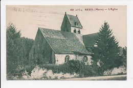 CPA 51 REUIL L'église - France
