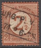 Deutsches Reich    .     Michel       .    29      .       O        .      Gebraucht - Deutschland