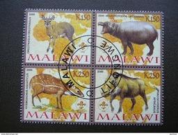 Cows. Hippopotamus. Wild Pig # 2008 Used #B(1191)  Hippo - Vaches