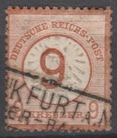 Deutsches Reich    .     Michel       .    30      .       O        .      Gebraucht - Deutschland