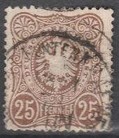 Deutsches Reich    .     Michel       .    35      .       O        .      Gebraucht - Used Stamps