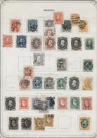 BRASIL - SUPERBE COLLECTION AVANT 1910 (*) / OBLITERES - 11 FEUILLES D'ALBUM - FORTE COTE - Brésil