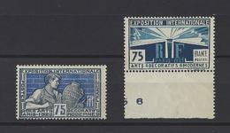 FRANCE  YT  N° 214-215   Neuf **  1924 - Neufs