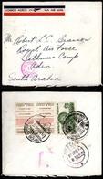 MEXICO. 1939. Carmen Campeche. Airmail. Aden Camp Censorship. Label Extraordinary Rare. VF. - México