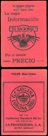 MEXICO. XX. Advertising Booklet With 2 + 1/2 Sheet. Proteja A La Infancia. Total 10 Stamps. - Mexico