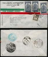 MEXICO. 1939. Campeche/Iraq. Airmail. Basra. Military Via New York. Superb! VF. - Mexico