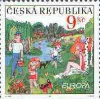 CEPT / Europa 2004 Tchèque N° 366 ** Les Vacances - Europa-CEPT