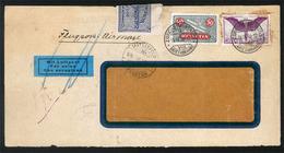 PHILIPPINES. 1936. Zurich/Switzerland. Officially Sealed Usage. Airmail. Extr.rare Usage! X-Fine. - Philippines
