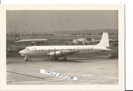 PHOTO DOUGLAS DC 7 C ARCO BERMUDA VR-BCX  ZAVENTEM 1970 - 1946-....: Modern Tijdperk