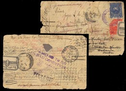 BC - Jamaica. 1926 (Sept). PARAGUAY-JAMAICA-PUERTO RICO-HAITI-USA-CUBA. San Bernardino To Dominican Rep. (15 Feb.27). Vi - Unclassified