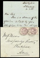 PORTUGAL-CABO VERDE. 1886 (14 March). St. Vincent / Cape Verde To England. Envelope With Contains Franked GB 21/2d Lilec - Portugal
