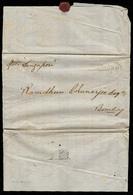 "CHINA. 1851. Canton - India / Bombay. EL Endorsed ""by Steamer SINGAPORE"" And Bilingual English / Arab Addressing. Scarce - Non Classificati"
