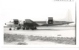 PHOTO DOUGLAS DC 7 VR-BCT ARCO BERMUDA 13X9CM - 1946-....: Era Moderna