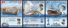 2012Israel2285-2287The Renaissance Of Jewish Seamanship - Ships
