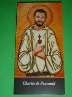 Beato Fra CHARLES De Jesus FOUCAULD - Strasburgo Francia / Tamanrasset Algeria - Santino Segnalibro - Religione & Esoterismo