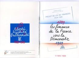 1989 Plaquette Souvenir Pour Le Bicentenaire De La Révolution Française - France