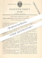 Original Patent - Jules Marie Chedeville , Paris , Frankreich , 1881 , Scheren - Mechanik Für Jalousien | Schere !! - Historische Dokumente