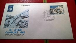 SARAJEVO 1984 OLIMPIADI - - Hiver 1984: Sarajevo
