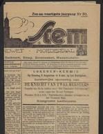 LOKEREN * 1929 * VRIJE STEM * KRANT * ZIE RECLAMES - Revues & Journaux